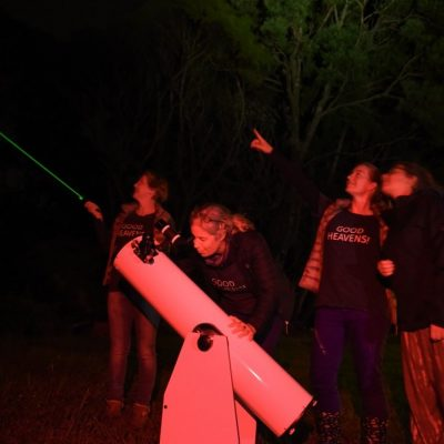 Stargazing with Good Heavens, Great Barrier Island, New Zealand