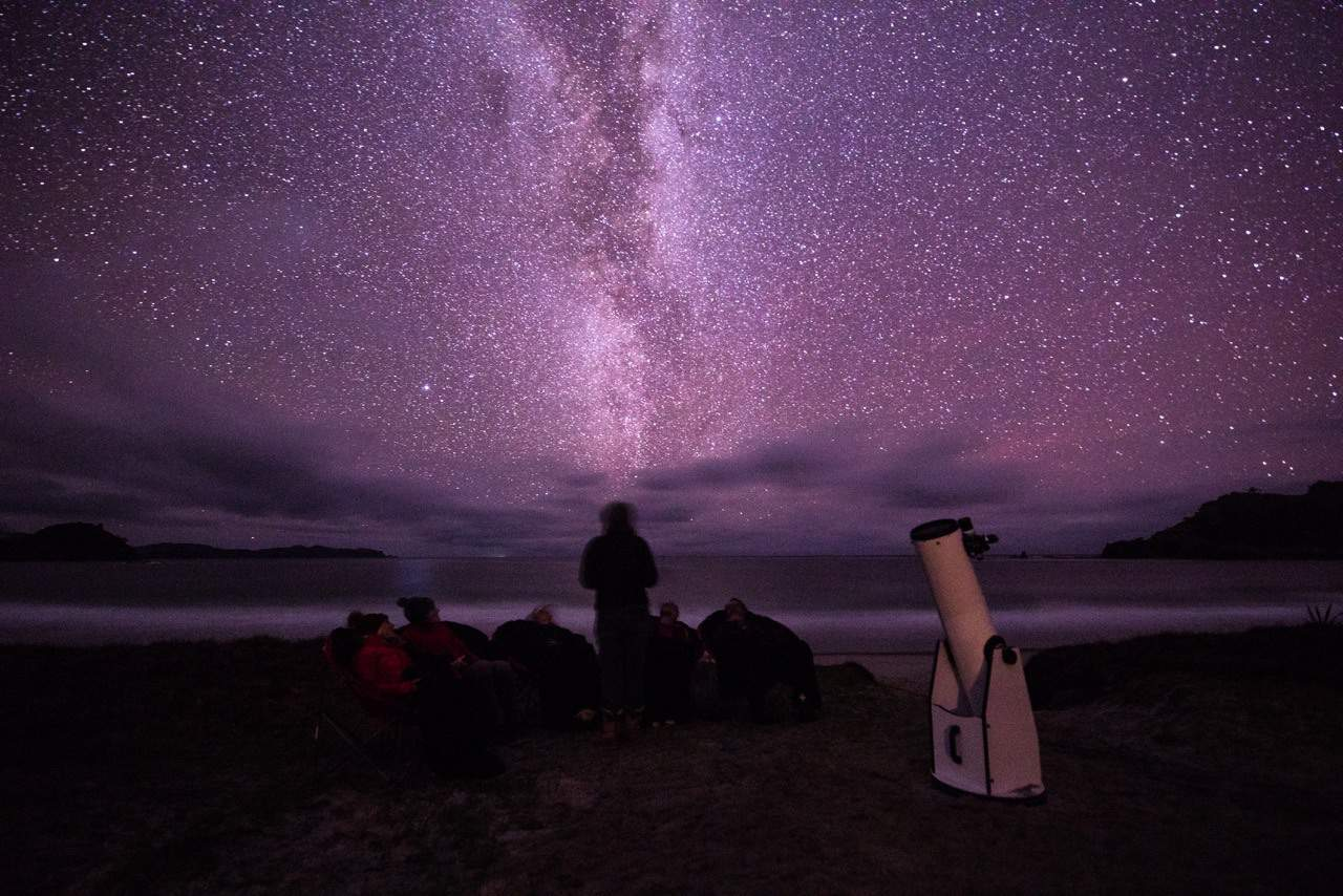 Stargazing tours on Medlands Beach